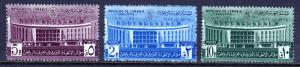 SAUDI ARABIA — SCOTT 201-203 — 1960 ARAB POSTAL CONFERENCE — MH — SCV $11.65
