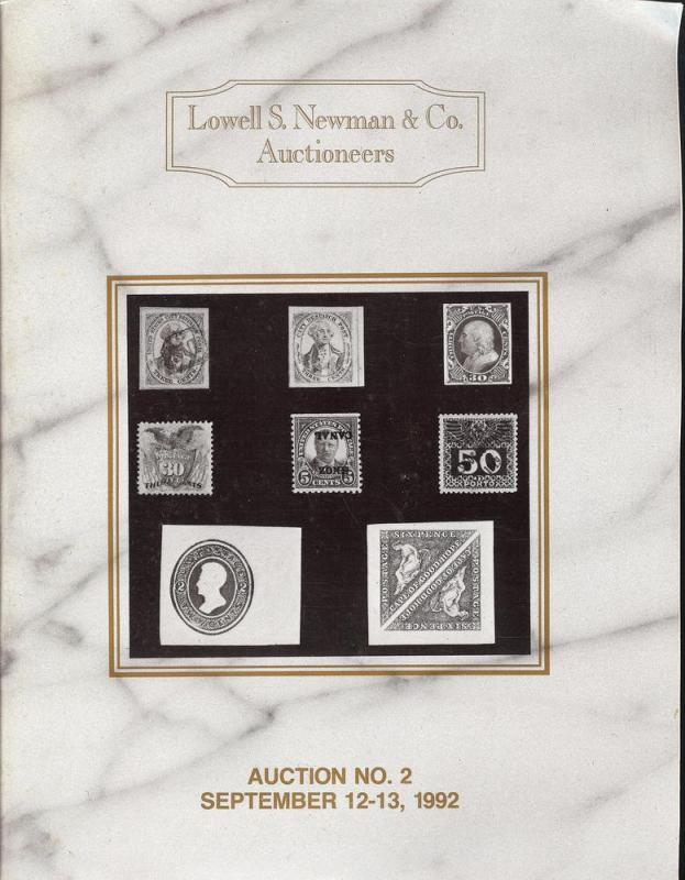 Newman: Sale # 2  -  Lowell S. Newman & Co. Auctioneers, ...