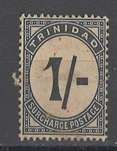 COLLECTION LOT OF #1893 TRINIDAD #J8 UNUSED NO GUM 1945 CV=$90 2 SCAN