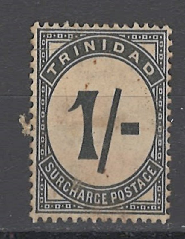 COLLECTION LOT OF #1893 TRINIDAD #J8 UNUSED NO GUM 1945 CV=$90 2 SCAN