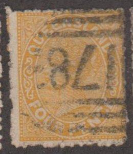Queensland - Australia Scott #59 Stamp - Used Single