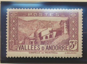 Andorra (French Administration) Stamp Scott #60A, Mint Hinged - Free U.S. Shi...