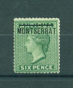 Montserrat sc# 2 mng cat value $75.00