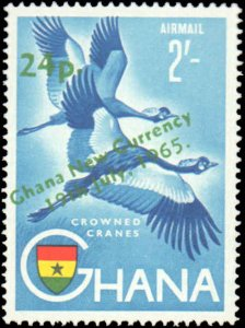 Ghana #216-226, C7-C8, Complete Set(13), 1965, Never Hinged