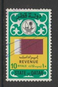 Qatar fiscal Revenue -Cinderella- stamp 3-20-21-