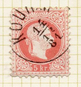 Austria 1874-80 Early Issue Fine Used 5kr. 306275