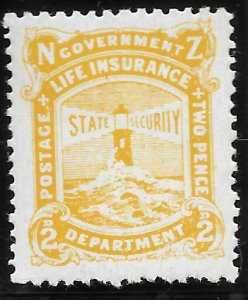 New Zealand OY26 Life Insurance Department 1946-47 MLH