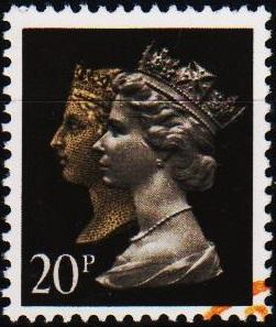 Great Britain. 1990 20p  S.G.1469 Fine Used