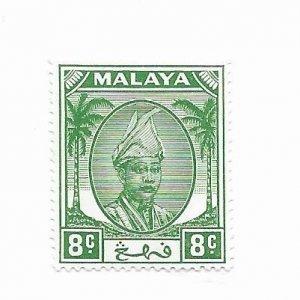 Malaya #66 MH - Stamp - CAT VALUE $1.25