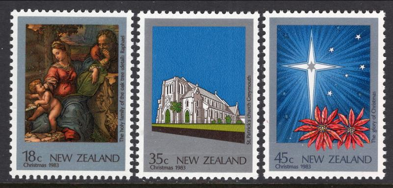 New Zealand 788-790 Christmas MNH VF