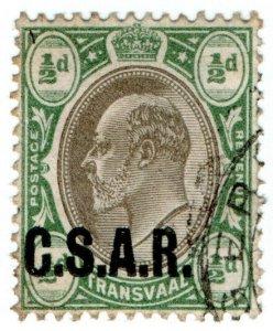 (I.B) Transvaal Railways : CSAR ½d