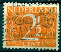 Netherlands; 1947: Sc. # 284: O/Used Single Stamp