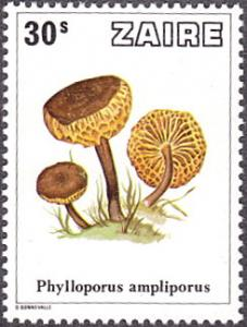 Zaire # 910 mnh ~ 30s Mushrooms