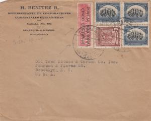 Ecuador 3 Covers 1930s & 1940s