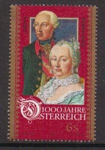 Austria    #B1710b  MNH  1996  Austria millennium  6s   Maria Theresa and Josef