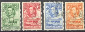 Bechuanaland Protectorate Sc# 124-129 (Assorted) Used 1938 King George VI