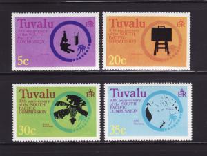 Tuvalu 46-49 Set MNH South Pacific Commission (C)