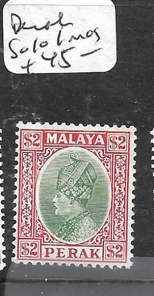 MALAYA PERAK  (P0105BB)  $2.00  SG 101  MOG