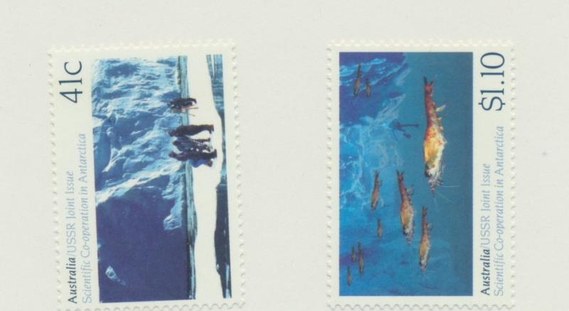 Australia Scott #1182 To 1183, Mint Never Hinged MNH, Antarctic Research Issu...