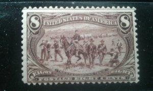 US #289 mint hinged e197.4664