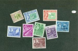 selection North Borneo CV $21