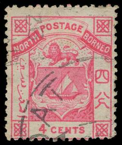 North Borneo Scott 11 Gibbons 11 Used Stamp