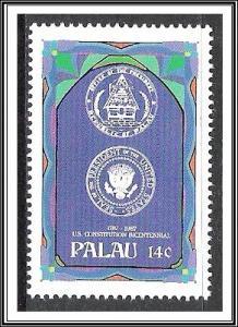Palau #156 US Constitution Bicentennial MNH