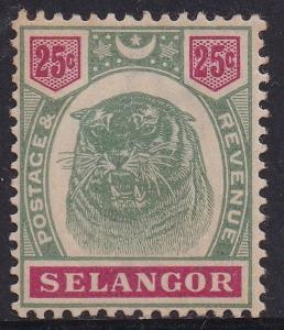 SELANGOR 1895 TIGER 25C