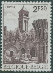 Belgium 1971 SG2233 2f.50 Notre-Dame Abbey MNH