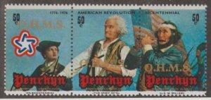 Penrhyn Island Scott #O13 Stamps - Mint NH Strip of 3