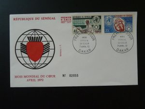 medicine cardiology international month of heart FDC Senegal 81075