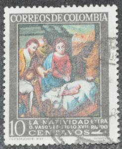 DYNAMITE Stamps: Colombia Scott #C439 – USED