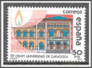Spain #2340 University MNH