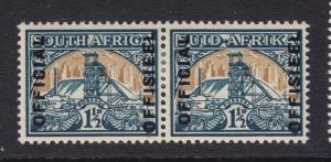 South Africa Scott # O37 VF OG mint hinged nice color cv $ 43 ! see pic !