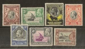 Tanganyika 1935 Definitives Mint Cat£37 (7v)
