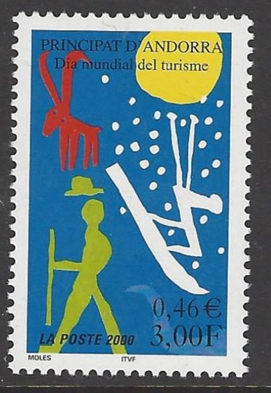 Andorra French 2000 Tourism VF MNH (526)