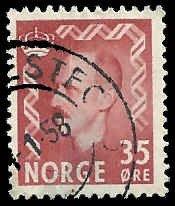 Norway - 346 - Used - SCV-0.25