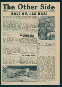 Germany 1944 V1 Rocket Flown Leaflet Berlin 1944 The Other Side Nr3 Christ 91596
