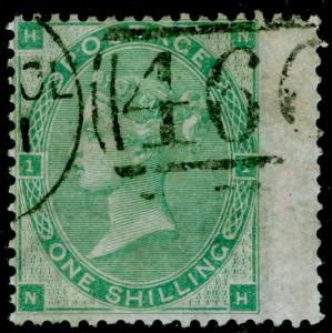 SG90, 1s green, FINE USED. Cat £300. NH