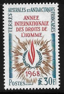 French Southern & Antarctic Territory - Scott #32 - VF - Mint Never Hinged (NH)