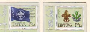 Lithuania Sc 836-7 2007 Europa stamp set mint NH