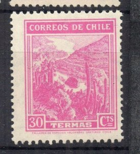 Chile 1938 Early Issue Fine Mint Shade of 30c. NW-12878