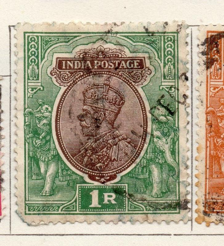 India 1926-29 Early Issue Fine Used 1R. 269120