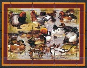 Guinea-Bissau - MNH Souvenir Sheets Ducks Birds (2001)