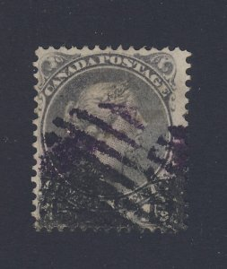 Canada Large Queen Stamp #29-15c Used Fine Guide Value = $30.00