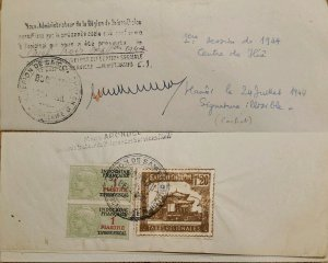 J) 1944 FRANCE, POSTAGE DUES, CERES, CHURCH, MULTIPLE STAMPS, AIRMAIL, CIRCULAT