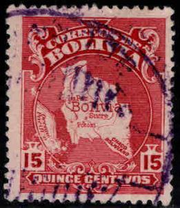 Bolivia Scott 191 Used from 1928 set