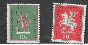 Germany #B360-B361  set   (MNH ) CV$4.50