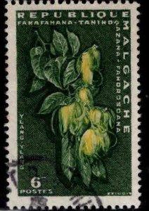 Madagascar Scott 312 Used 1960 stamp