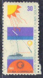 CUBA SC# 962  **USED** 1965   30c   SEE SCAN